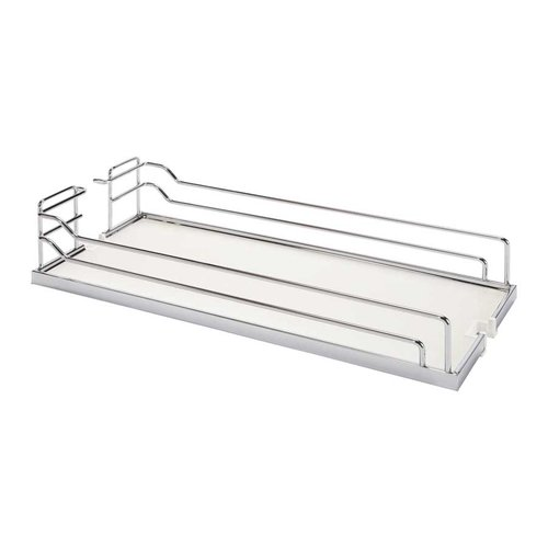 "Arena Plus Tray Set (2) 14"" Wide Chrome/White <small>(#546.63.214)</small>"