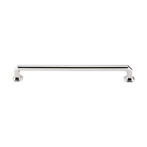 Top Knobs Chareau 9 Inch Center to Center Polished Nickel Cabinet Pull TK290PN