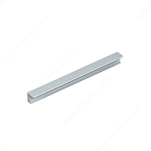 Richelieu Squared 3-3/4 Inch Center to Center Aluminum Cabinet Pull BP46049610