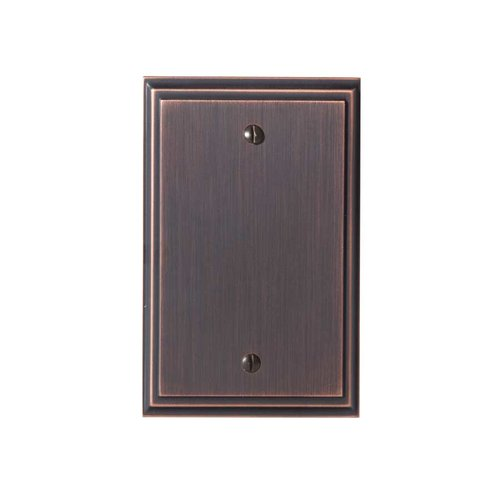 Mulholland Blank Wall Plate Oil Rubbed Bronze <small>(#BP36527ORB)</small>