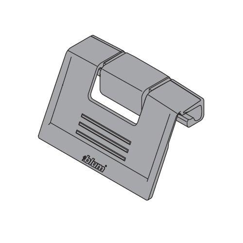 Blum Tandembox Interior Front Handle -Grey ZIF.80M5