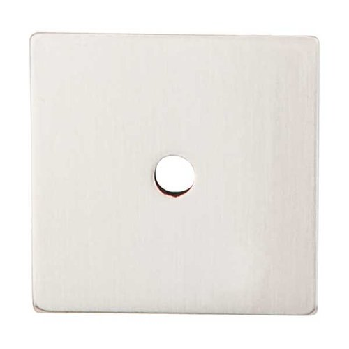 Top Knobs Sanctuary 2-5/8 Inch Length Brushed Satin Nickel Back-plate TK95BSN