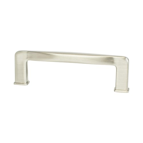"Subtle Surge Pull 3-3/4"" C/C Brushed Nickel <small>(#1242-1BPN-P)</small>"