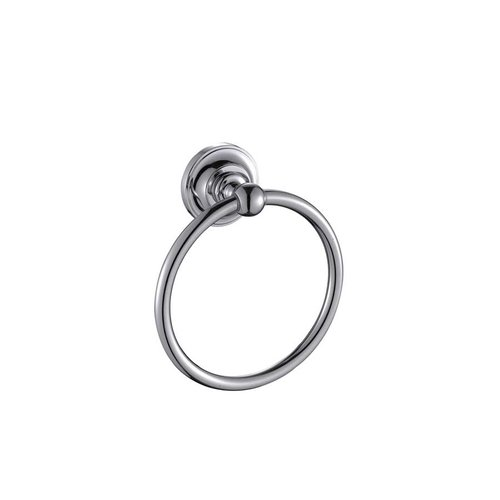 Paradise Bathworks Elysium Towel Ring Polished Chrome 63026