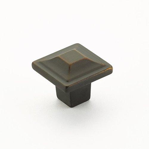 Schaub and Company Menlo Park 1-1/4 Inch Diameter Ancient Bronze Cabinet Knob 530-ABZ