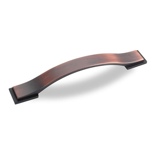 Jeffrey Alexander Miranda 5-1/16 Inch Center to Center Dark Brushed Antique Copper Cabinet Pull 80152-128DBAC