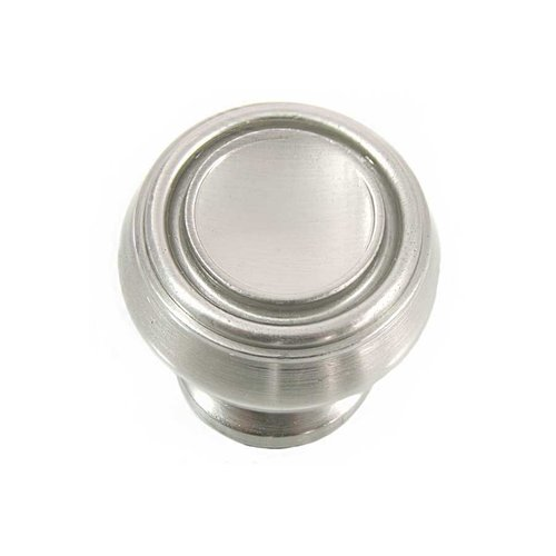 MNG Hardware Balance 1-1/4 Inch Diameter Satin Nickel Cabinet Knob 85028