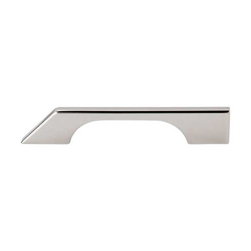 Top Knobs Sanctuary 5 Inch Center to Center Polished Nickel Cabinet Pull TK14PN