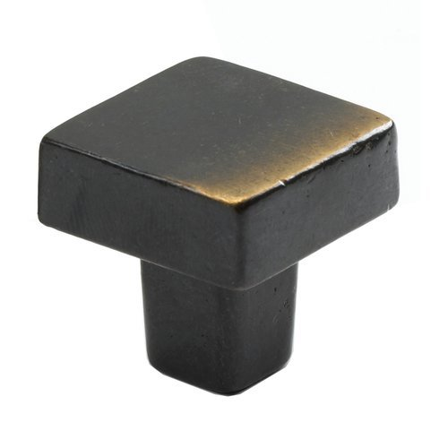 Schaub and Company Vinci Designs 1-3/16 Inch Diameter Antique Bronze Cabinet Knob 789-AZ