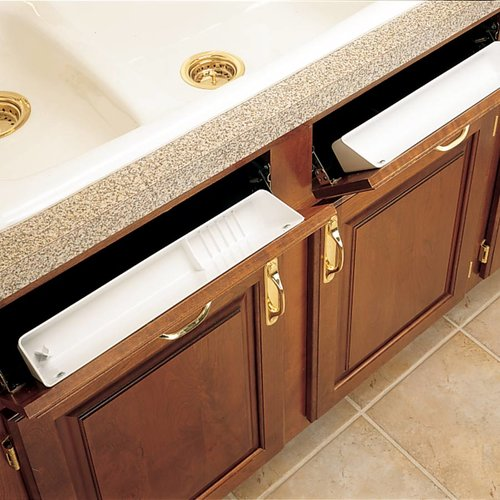 Rev-A-Shelf Standard & Accessory Sink Trays With Hinges 6572-14-11-52