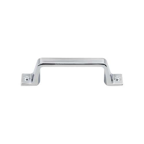Top Knobs Barrington 3 Inch Center to Center Polished Chrome Cabinet Pull TK742PC