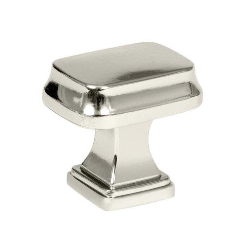 Amerock Revitalize 1-1/4 Inch Diameter Polished Nickel Cabinet Knob BP55340PN