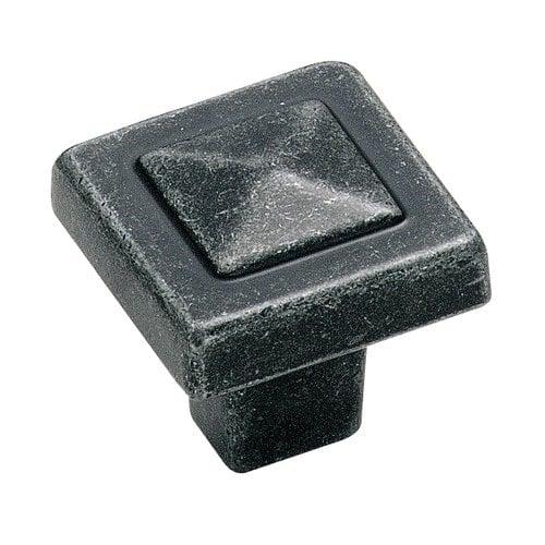 Amerock Forgings 1-1/8 Inch Diameter Wrought Iron Cabinet Knob BP4429WI