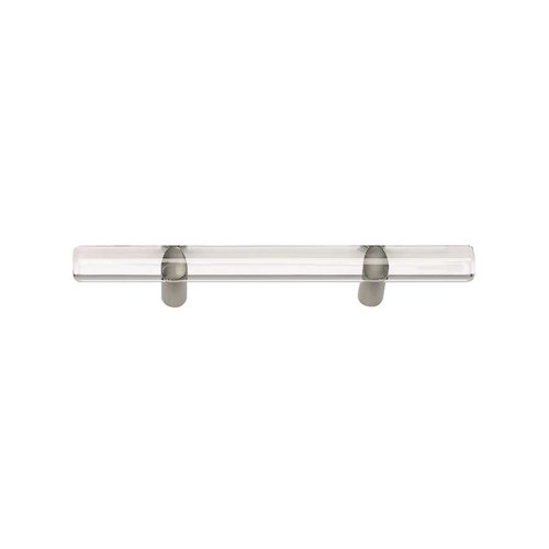 Optimism 3 Inch Center to Center Brushed Nickel Cabinet Pull <small>(#3147-BRN)</small>