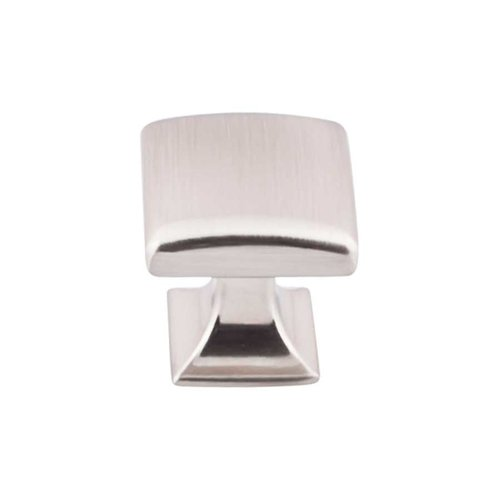 Top Knobs Transcend 1-1/8 Inch Diameter Brushed Satin Nickel Cabinet Knob TK721BSN
