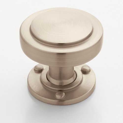 Rochdale 1-1/4 Inch Diameter Satin Nickel Cabinet Knob <small>(#BP53710G10)</small>