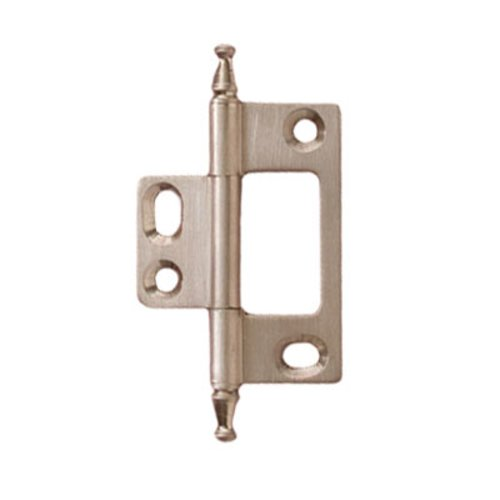 Elite Non-Mortised Butt Hinge 50X37mm - Brushed Nickel <small>(#351.95.680)</small>
