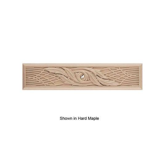 Brown Wood Nouveau Onlay Unfinished Walnut 01800657WL1