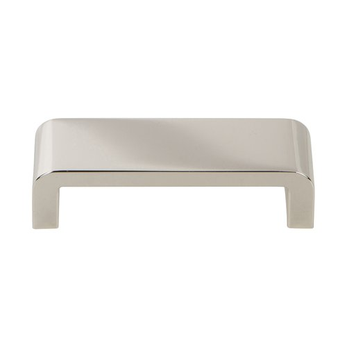 Atlas Homewares Platform Pull 96MM C/C Polished Nickel A914-PN