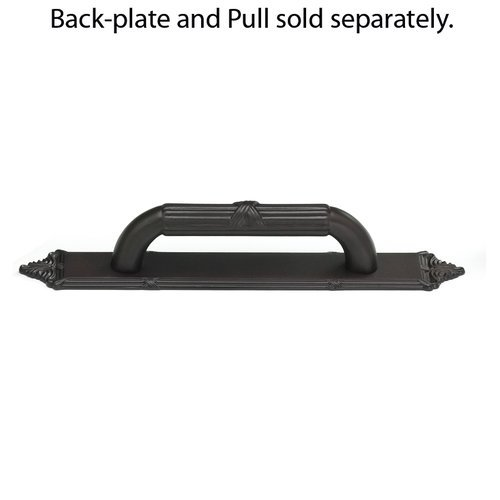 Schaub and Company Versailles Forged Solid Brass 3-3/4 Inch Center to Center Oil Rubbed Bronze Back-plate 763-10B