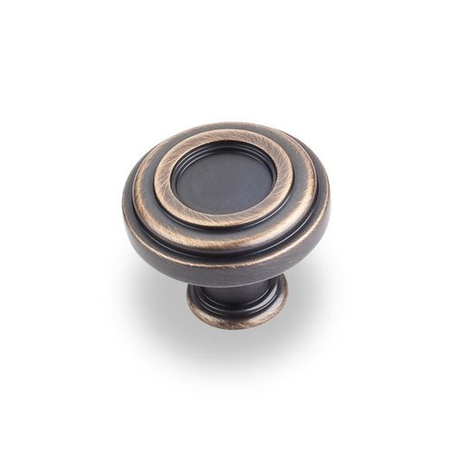 Lafayette 1-3/8 Inch Diameter Antique Brushed Satin Brass Cabinet Knob <small>(#317ABSB)</small>