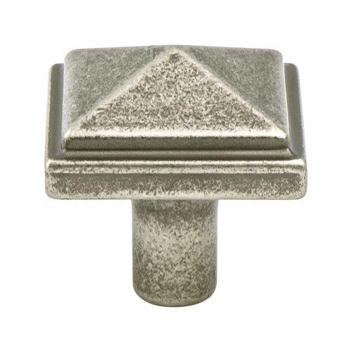 Berenson Rhapsody 1-3/16 Inch Diameter Weathered Nickel Cabinet Knob 3051-1WN-P