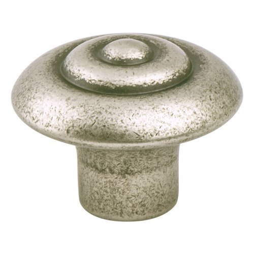 Rhapsody 1-1/4 Inch Diameter Weathered Nickel Cabinet Knob <small>(#3057-1WN-P)</small>