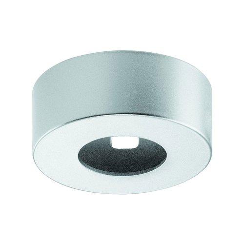 Hafele Loox 2040 Round Surface Mount Trim Ring Silver 833.72.143