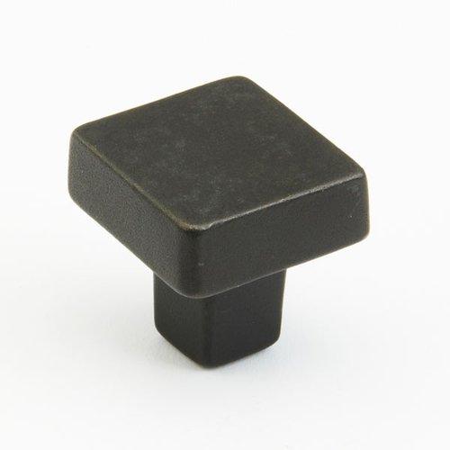Schaub and Company Vinci 1-1/4 Inch Diameter Black Bronze Cabinet Knob 789-BB