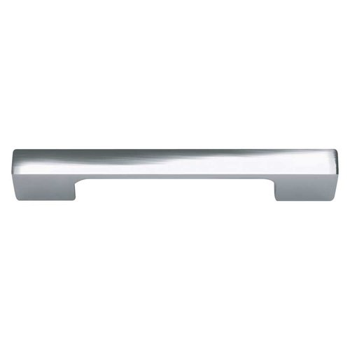 Successi 3-3/4 Inch Center to Center Polished Chrome Cabinet Pull <small>(#A836-CH)</small>