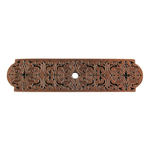 Notting Hill Olde World 3-7/8 Inch Length Antique Copper Back-plate NHE-573-AC