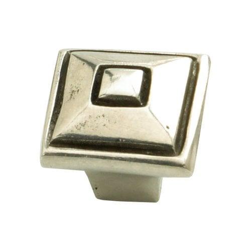 Schaub and Company Perla 1-3/8 Inch Diameter Natural Britannium Cabinet Knob 135-N