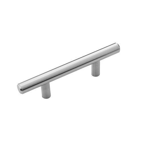 Hickory Hardware Bar Pull Pull 64MM Center to Center Stainless Steel HH075592-SS