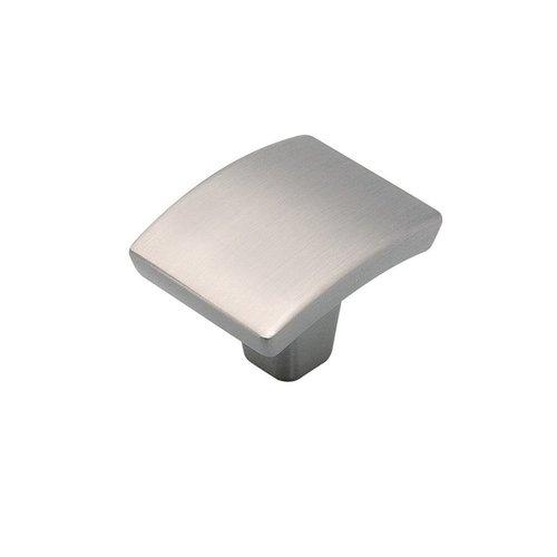 "Hickory Hardware Rotterdam Knob 1-3/8"" Dia Satin Nickel P3123-SN"