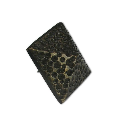 "Medium Textured Pyramid Clavo 1-3/8"" Dia - Antique Brass <small>(#HCL1504)</small>"