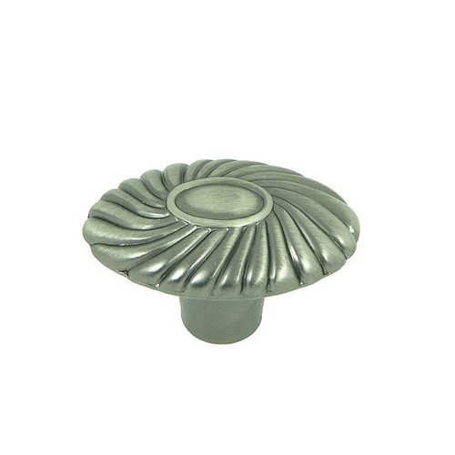 Stone Mill Hardware Vienna 1-5/8 Inch Diameter Weathered Nickel Cabinet Knob CP88761-WEN