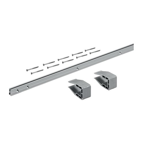 Hettich Grant Slideline M 18MM Profile Set Anodized Aluminum 9209225