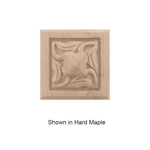 Brown Wood Small Nouveau Tile Unfinished Cherry 01901057CH1