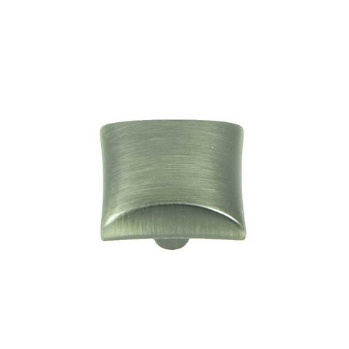 Stone Mill Hardware Milan 1-1/8 Inch Diameter Weathered Nickel Cabinet Knob CP82356-WEN