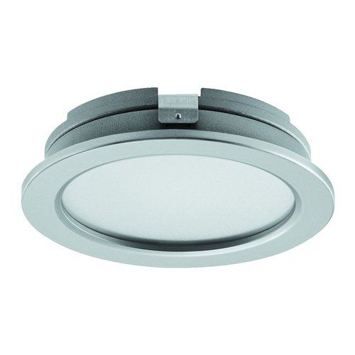 Hafele Loox 3027 24V LED Silver Spotlight Warm/Cool White 833.75.051