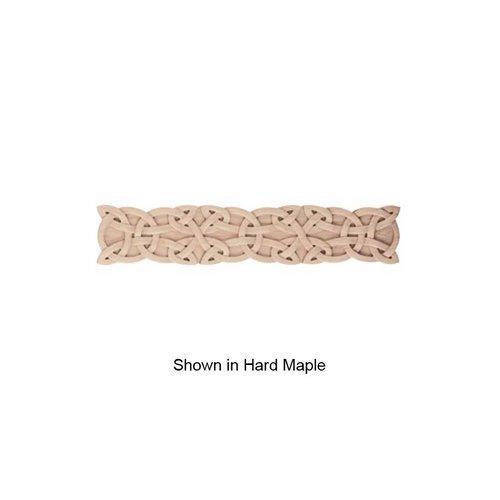 Brown Wood Medium Gaelic Onlay Unfinished Walnut 01832227WL1