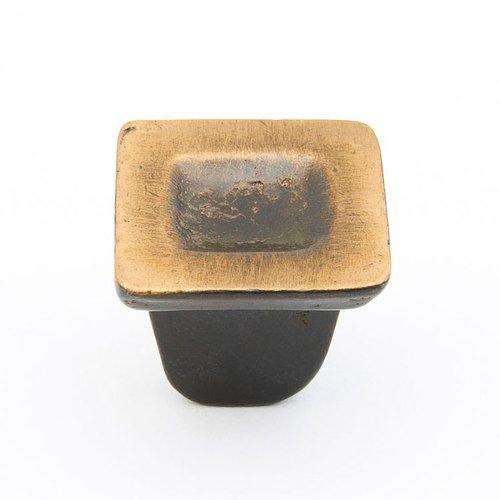 Schaub and Company Vinci 1-1/4 Inch Diameter Antique Bronze Cabinet Knob 810-AZ
