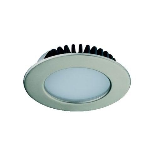 Hafele Loox 2020 12V LED Matte Nickel Spotlight Cool White 833.72.283