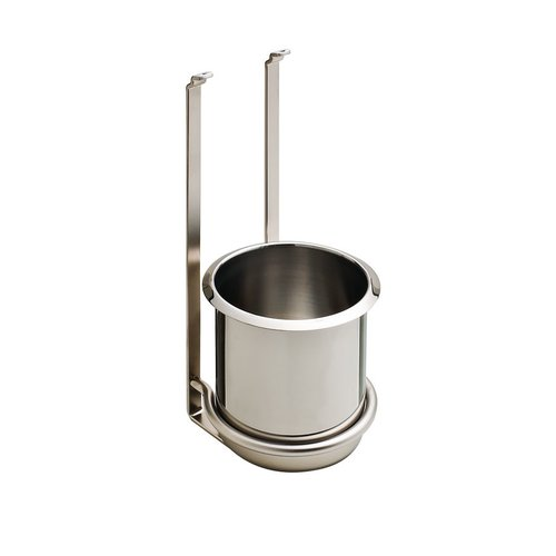 Kessebohmer Utensil Holder For Backsplash Rail System Stainless Look 521.61.635