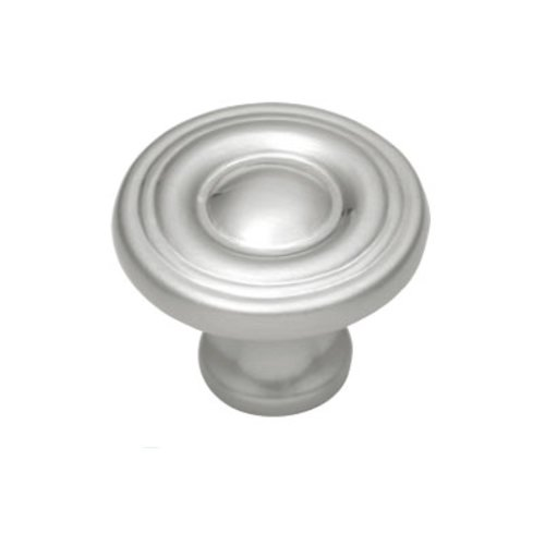 Hickory Hardware Conquest 1-1/8 Inch Diameter Satin Nickel Cabinet Knob P14402-SN