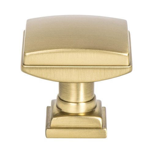 "Berenson Tailored Traditional Knob 1-1/4"" Dia Modern Brushed Gold 1276-1MDB-P"