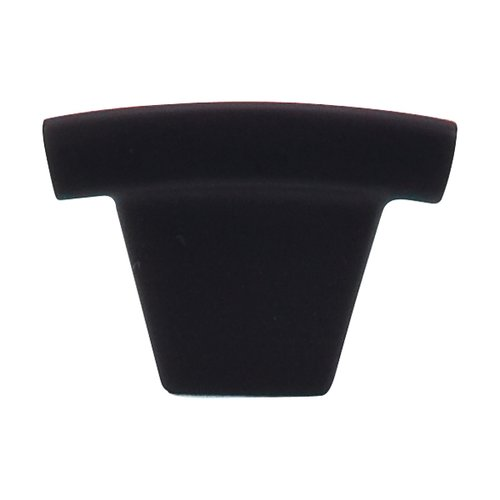 Top Knobs Sanctuary 1-1/2 Inch Length Flat Black Cabinet Knob TK1BLK