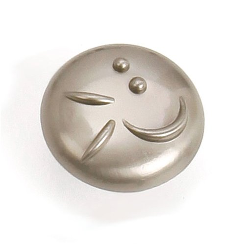 Laurey Hardware Graffiti 1-3/8 Inch Diameter Satin Nickel Cabinet Knob 37228