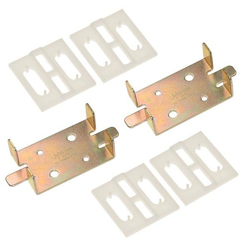 "Johnson Hardware 1500 Series Adapter Kit For 1-3/4"" Doors 1575PPK3"