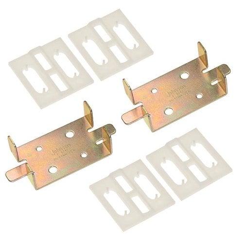 Johnson Hardware 1500 Series Adapter Kit For 1-3/4 inch Doors 1575PPK3